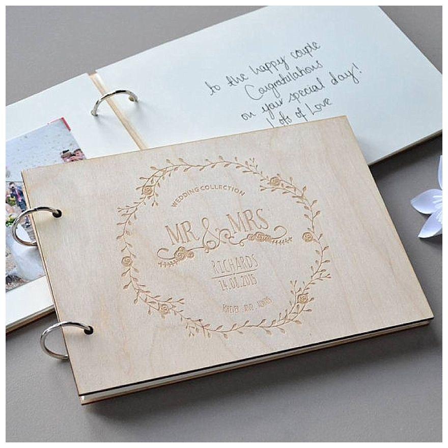 Seven Favourite Wedding Guest Book Ideas Book Binding Pinterest