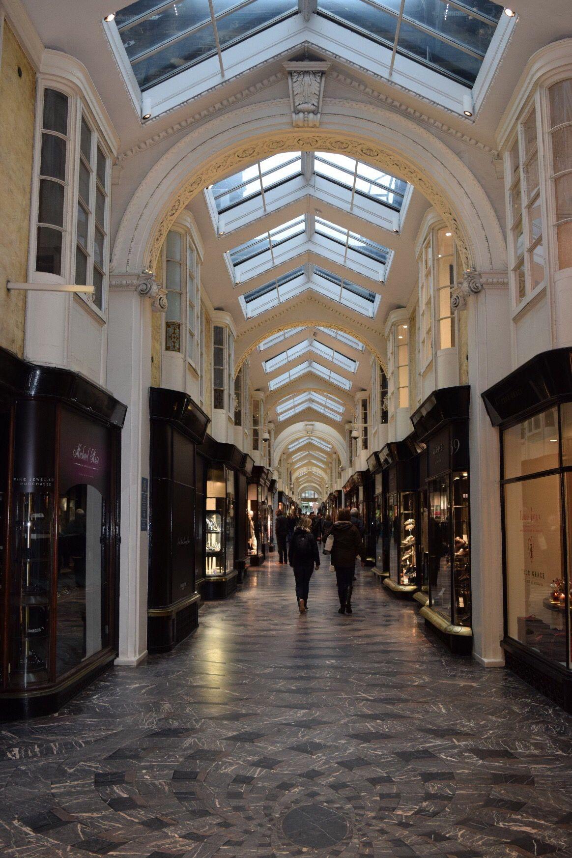 Burlington Arcade in London