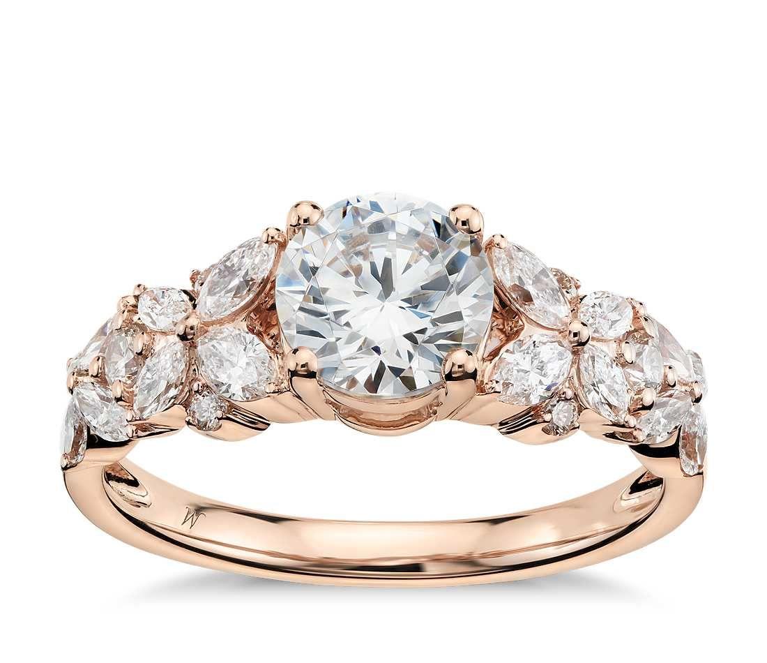 Build Your Own Ring Setting Details Monique Lhuillier Engagement Ring Bluenile Engagement Ring Future Engagement Rings