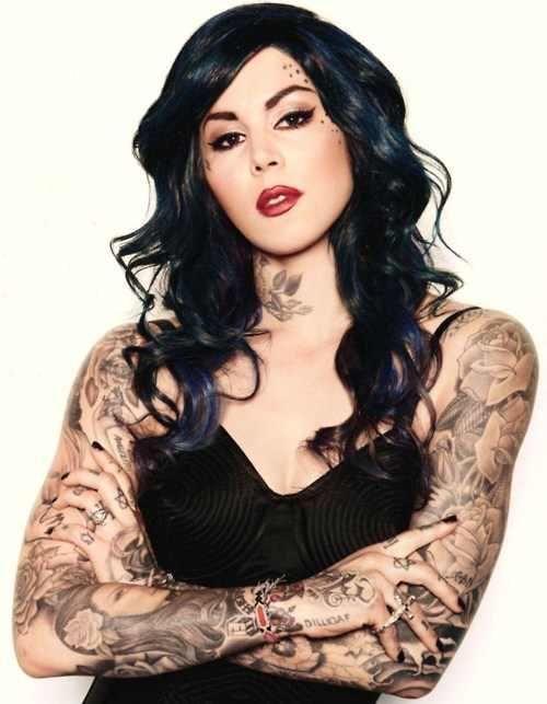 Kat Von D Simplemente Fantastica Kat Von D Tattoos Girl Tattoos Kat Von D