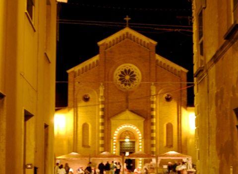 Chiesa di San Lorenzo: notturna