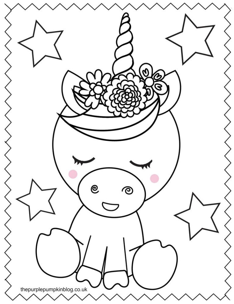 Super Sweet Unicorn Coloring Pages Free Printable Colouring Book Unicorn Coloring Pages Free Kids Coloring Pages Free Printable Coloring