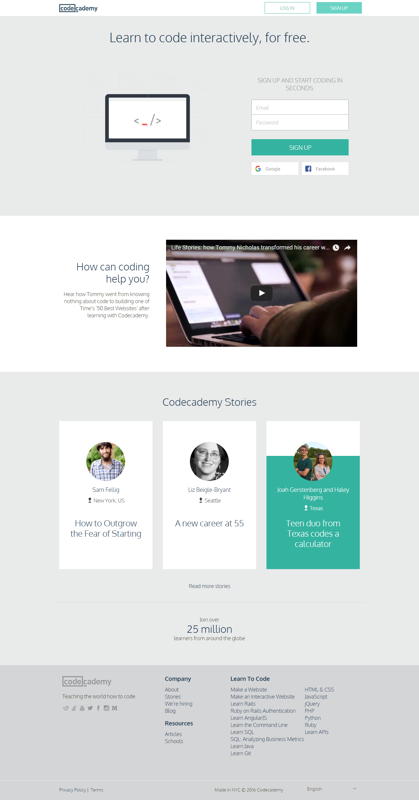 Learn To Code For Free Codecademy Learn To Code Teaching Coding Interactive Learning