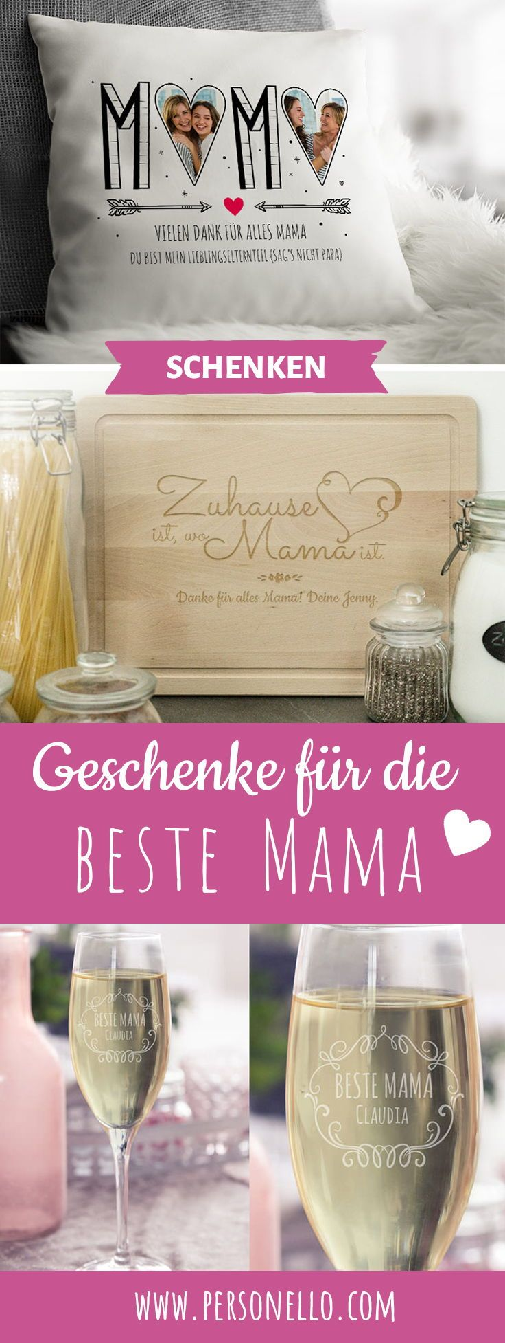 Geschenke für Mama zum Muttertag, Geburtstag oder Weihnachten: Ehre ...