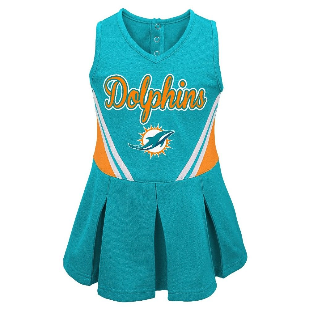 separation shoes 31d53 1f4dd Miami Dolphins Baby Girls' Cheer Set - Team Color 12M, Size ...