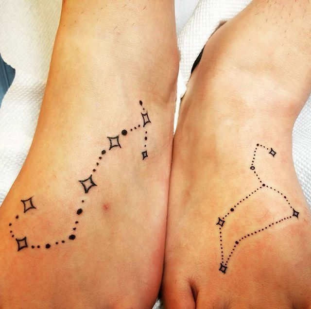 c6d867ca0 21 Creative Matching Tattoo Ideas That Stray From The Norm | Get ...