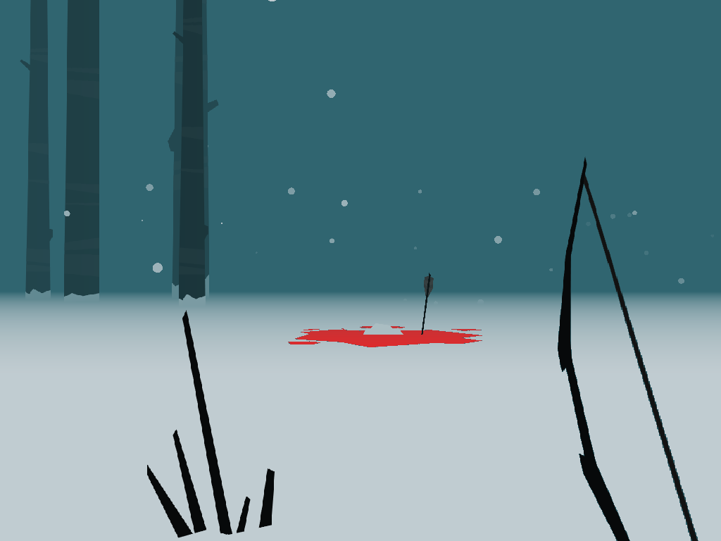 """warpdoor:  The Howl (Flex Roman)   """"Another exploration/hunting game, this time, with snow."""" -Author's description"""