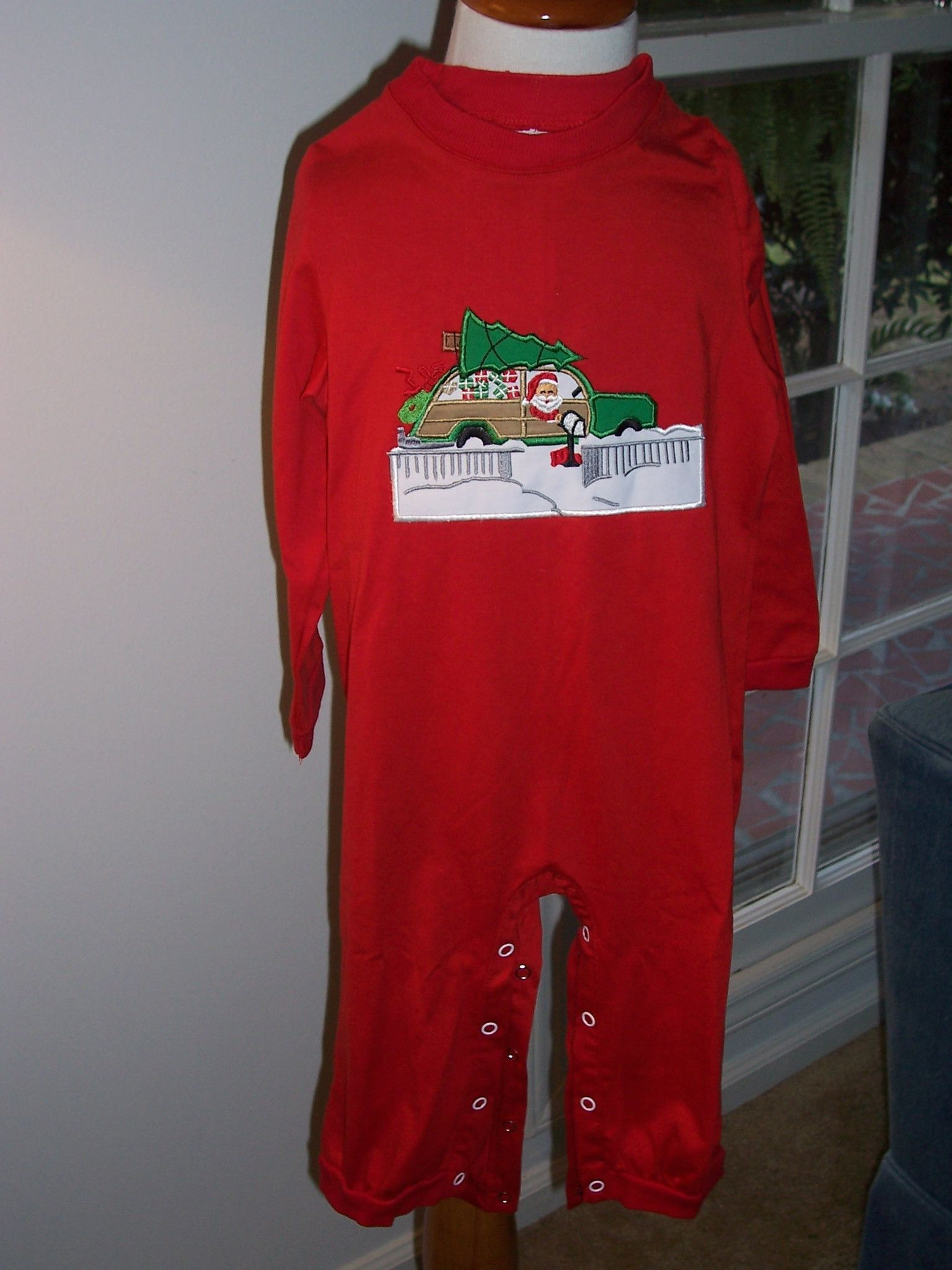 "Now available on our store: Vintage ""Special ... Check it out here! http://www.thebubblebee.com/products/vintage-special-delivery-mailman-santa-knit-boys-romper?utm_campaign=social_autopilot&utm_source=pin&utm_medium=pin"