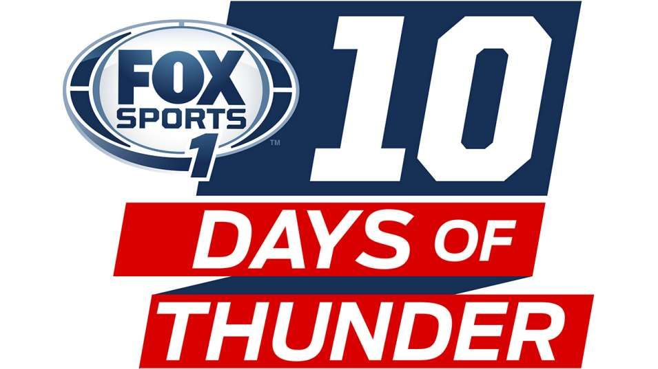 '10 Days of Thunder' storms on FOX Sports 1 television