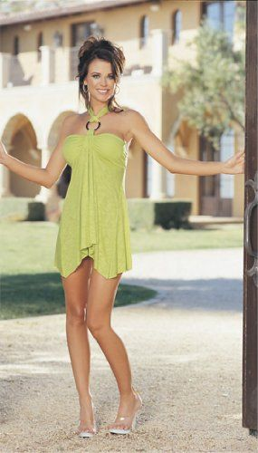 Women's Soft Knit Bandeau Top Chemise With Metal « Clothing Impulse