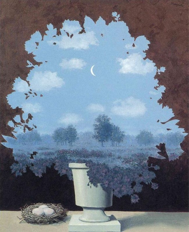 Rene Magritte Quot The Land Of Miracles Quot 1964 Surrealismo