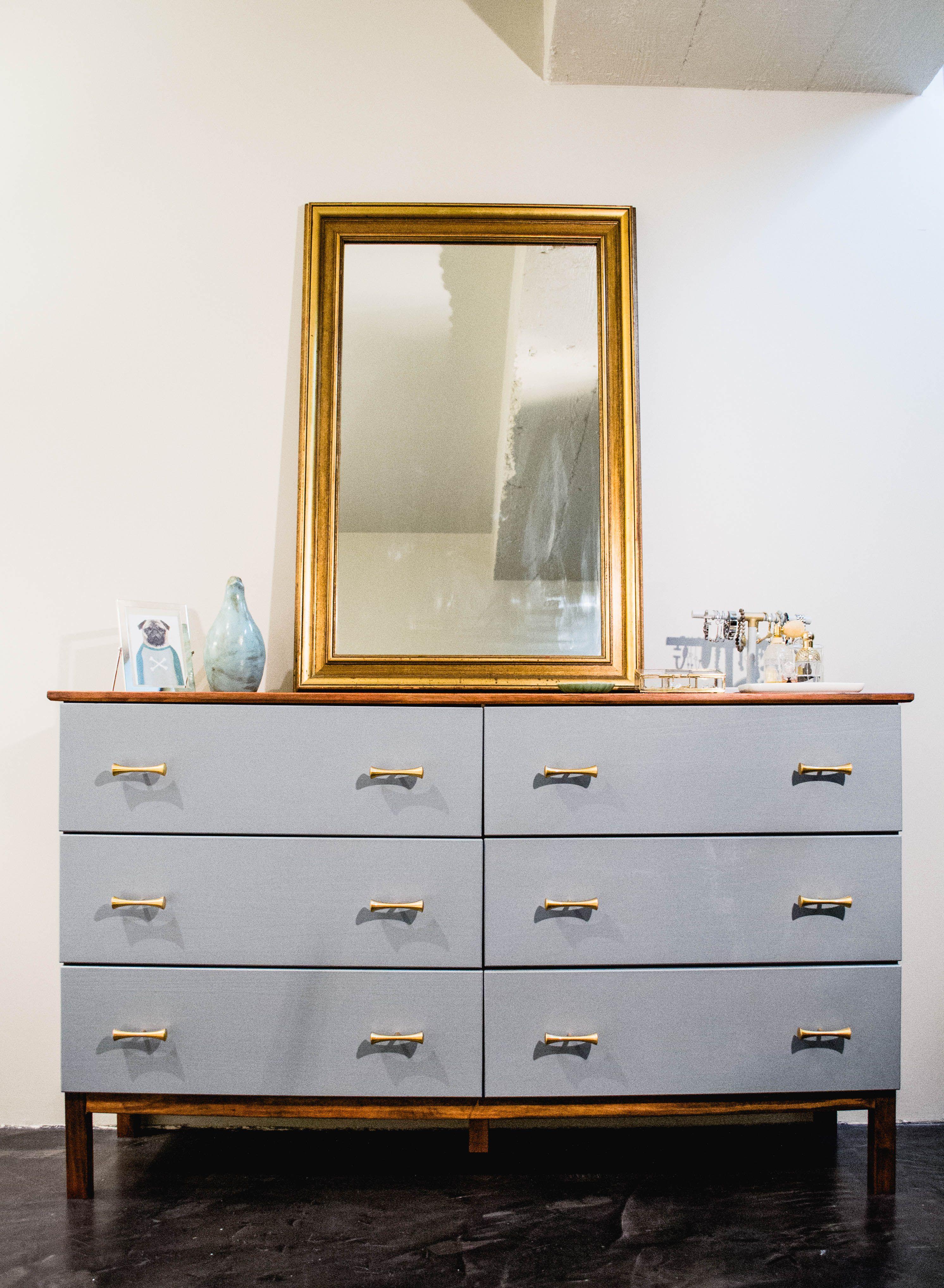 Dresser Makeover Ikea Tarva Part 2 Home Deco Furniture Retro Furniture Ikea
