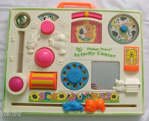 Vintage Fisher Price Activity Centre Vintage Baby Toys