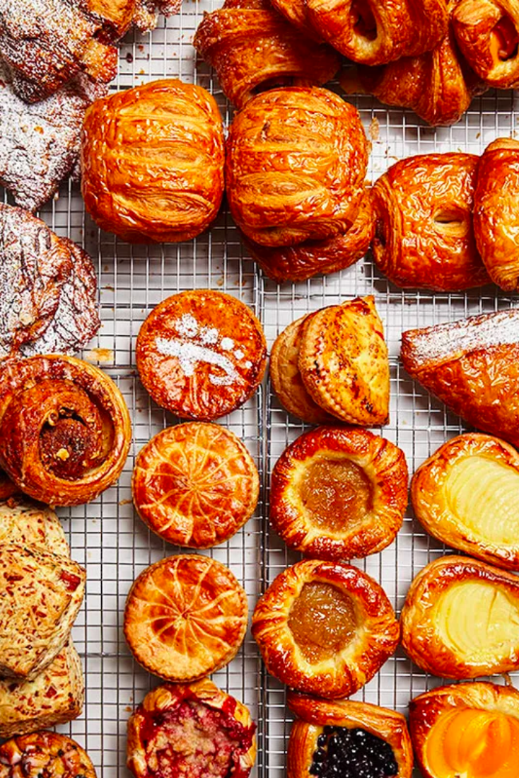 All your breakfast pastry needs at Fresh Flours in Seattle