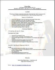 Convenience Store Cashier Resume Occupational Examples Samples