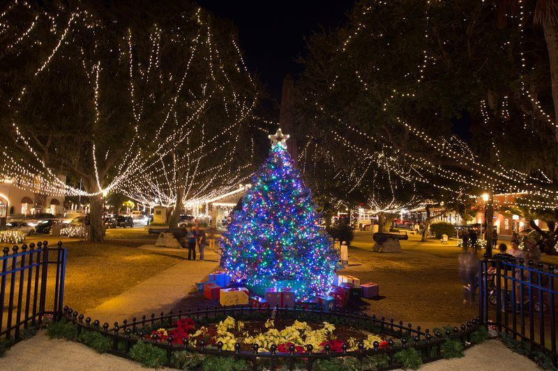 Christmas Town Florida.St Augustine Is The Most Magical Christmas Town In Florida