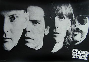 Cheap Trick One On One Poster.