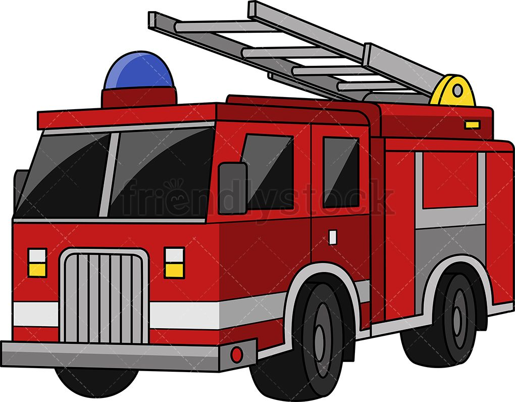 Fire Truck S Izobrazheniyami Pozharnyj Illyustracii Doshkolnoe