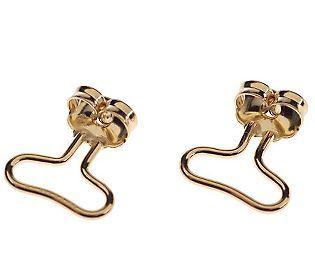 Eternagold Earqualizer Supportive Earring Backs 14k Gold