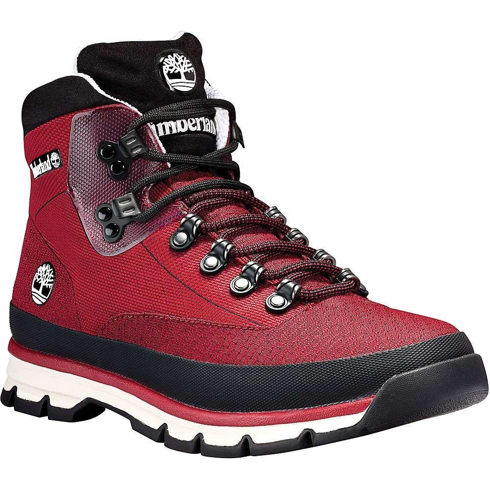 61545c15041 Timberland Men's Euro Hiker Jacquard Boot - 12 - Medium Red Jacquard ...