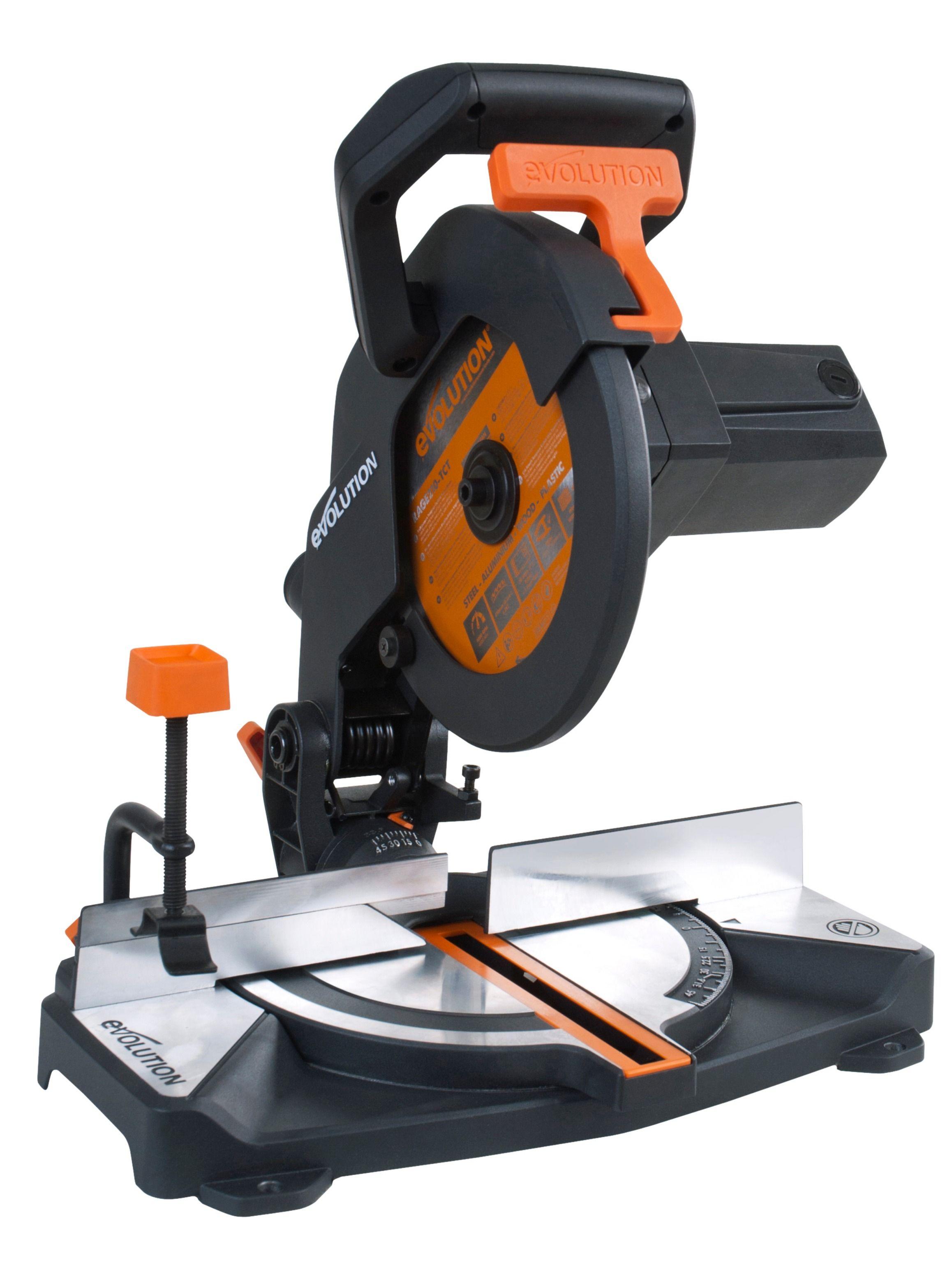 Evolution power tools r210cms professional compound mitre