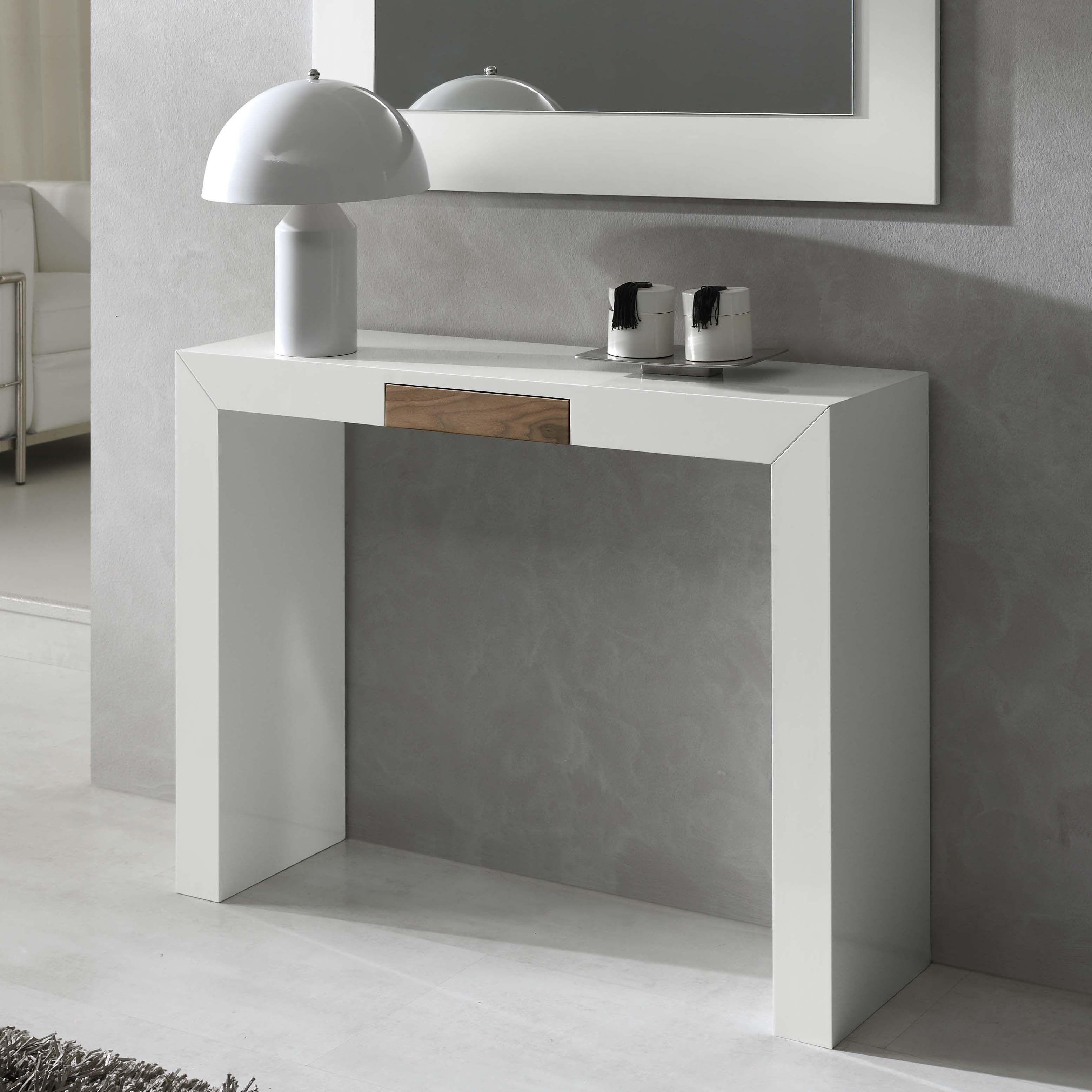 Consola moderna blanca CON-05 | Decoracion de interiores | Pinterest ...
