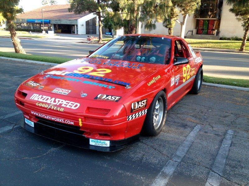 MAZDA RX7 EP SCCA NATIONAL RACE CAR - GRANADA HILLS - CALIFORNIA ...