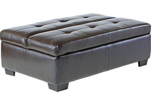 innovative design 90a6b fae53 Fernando Brown Sleeper Ottoman | Interior Design in 2019 ...