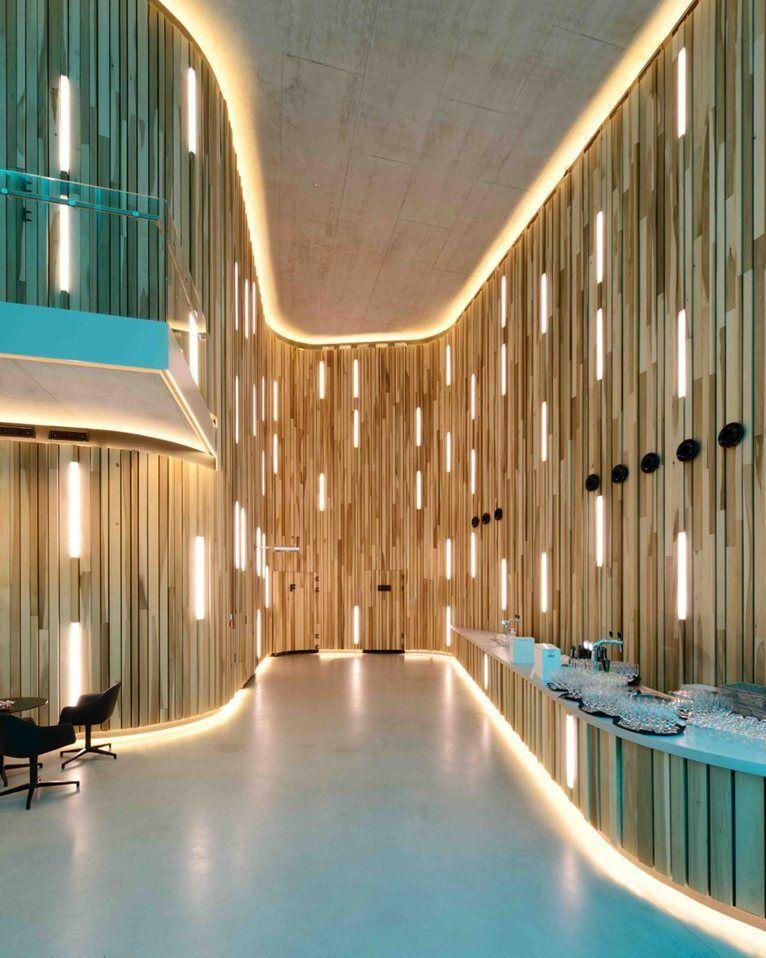 Kunstcluster nieuwegein lobby interia hospitality hospitality hotel interior design cladding ideaswall claddinglighting