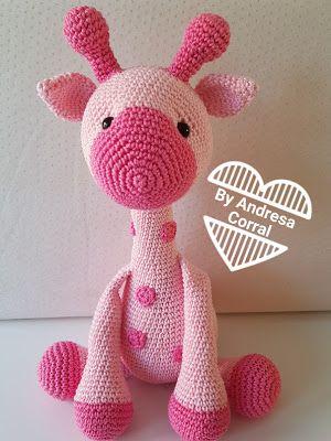 Girafa Nessa Amigurumi Bichinhos De Croche Urso De Croche