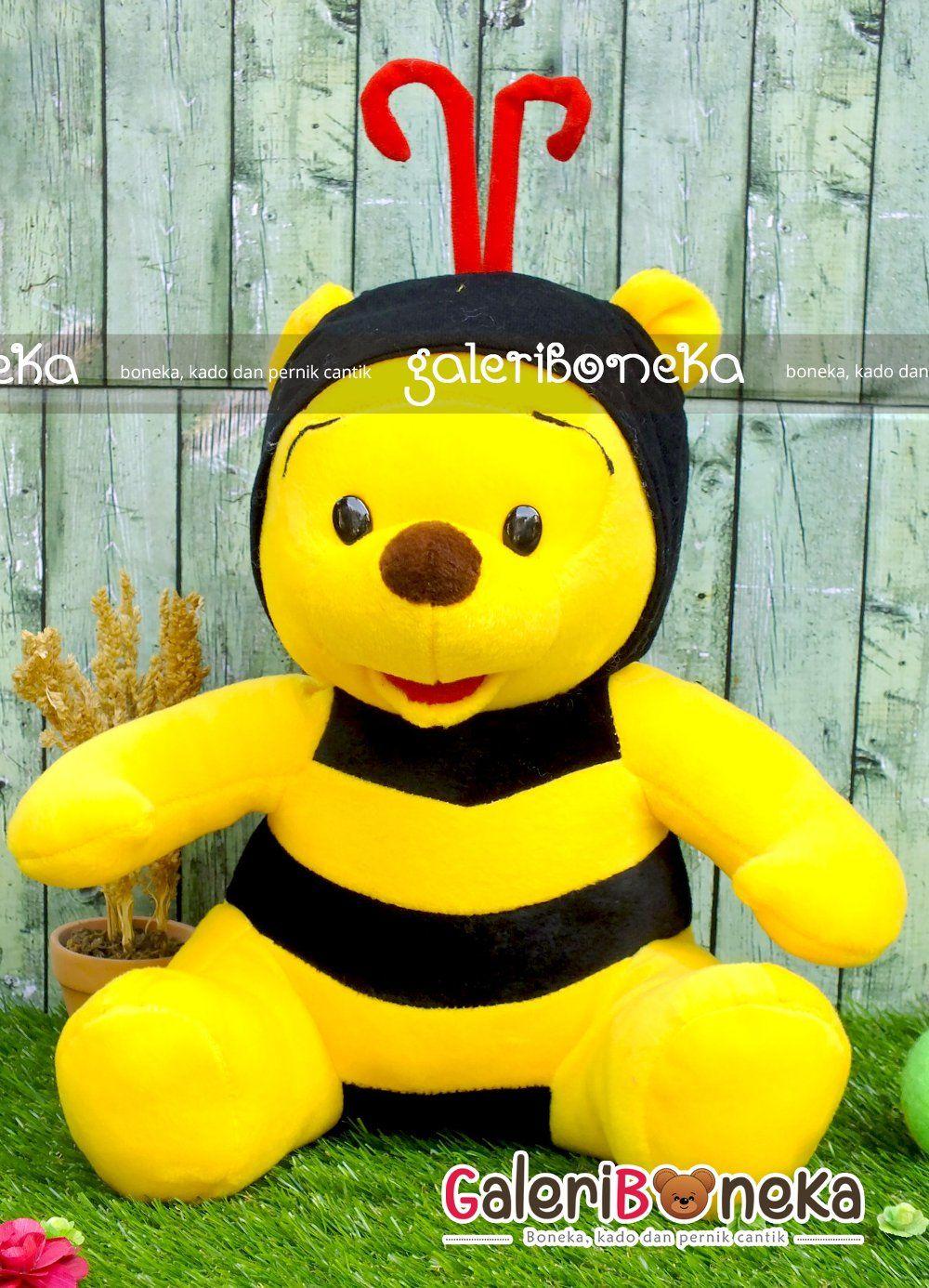 Jual Boneka Lucu Bentuk Boneka Lebah Besar Cocok Untuk Di Berikan Sebagai Kado Ulang Tahun Desainnya Fun Dan Playful Semua Pasti Menyukain Boneka Lebah Lucu
