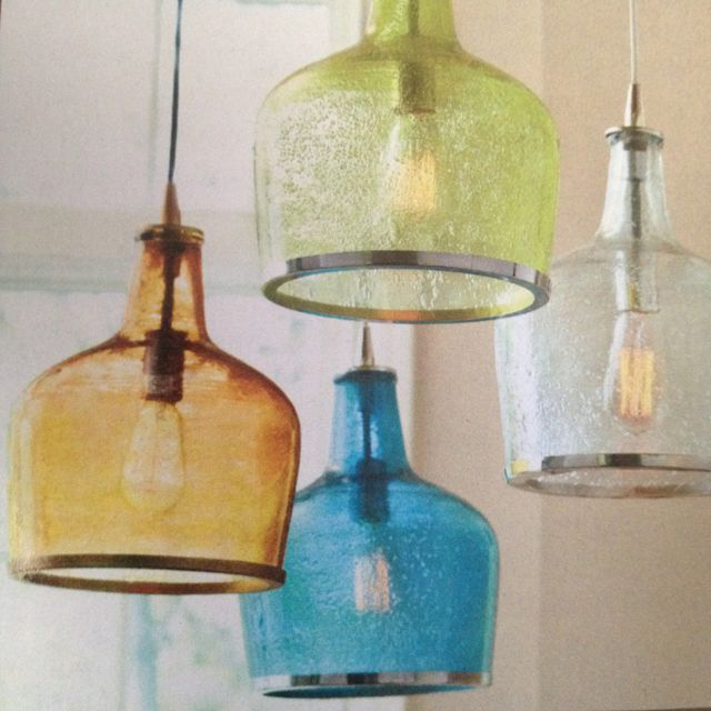Pendant lights for over the bar