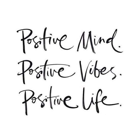 Positive Vibes On Pinterest