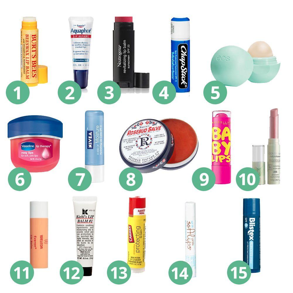 15 Best Drugstore Lip Balms