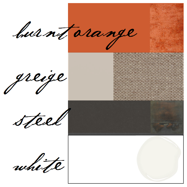 Best Color Scheme Burnt Orange Gray Living Room Orange 400 x 300