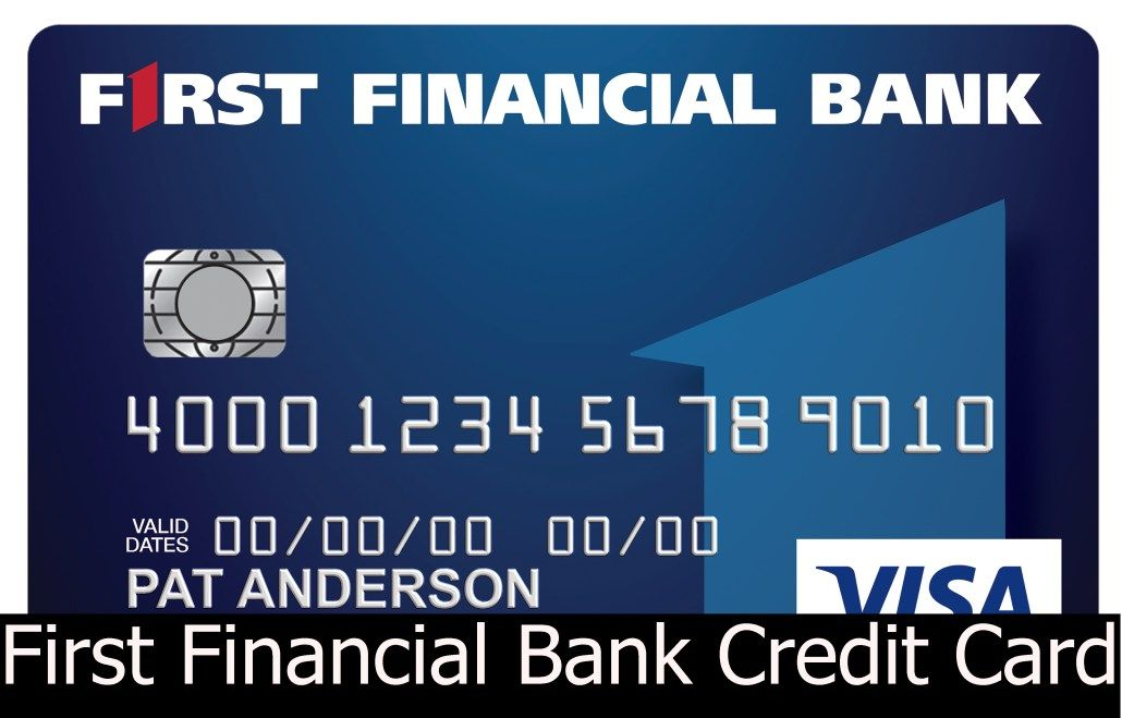 First financial bank credit card review and application