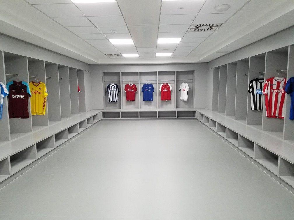 24++ Best dressing rooms football ideas