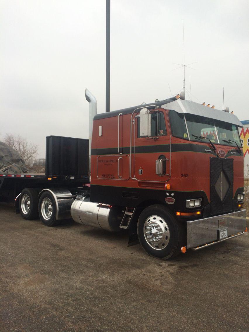 '86 Peterbilt 362 Peterbilt, Semi trucks, Trucks