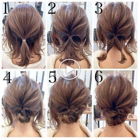 Half Braid Tutorial Video Hairstyle Tutorial Included Uplifting Mayhem Peinados Pelo Corto Cabello Lacio Peinados Poco Cabello