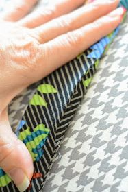 Blue Susan makes: Perfect Fabric Purse Handle Tutorial