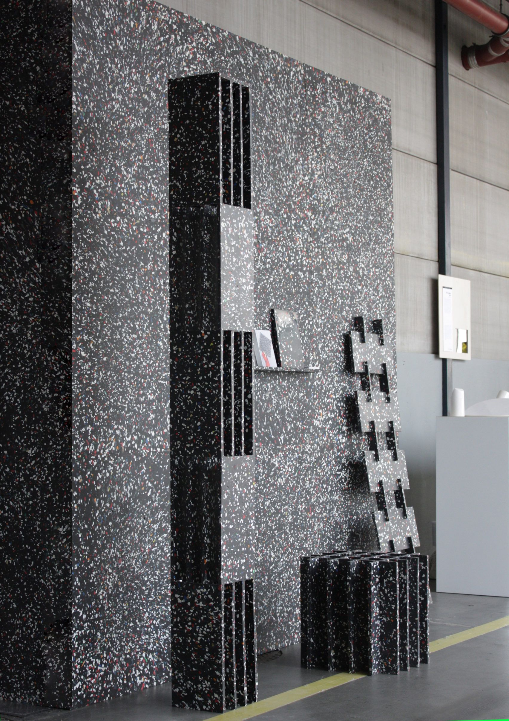 91fbe903f31b Plasticiet produces terrazzo-like material from recycled plastic ...