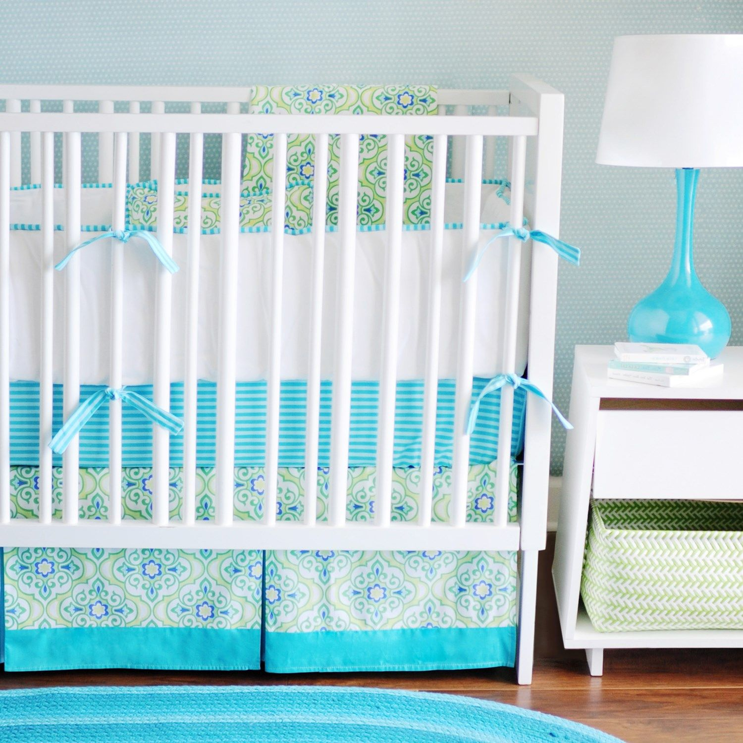 New Arrivals Crib Bedding Monterey Bay #Laylagrayce