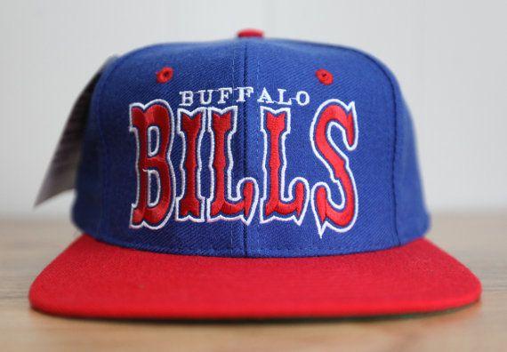 739f852a Vintage 90's Buffalo Bills Universal Prosona Snapback Hat | Vintage ...