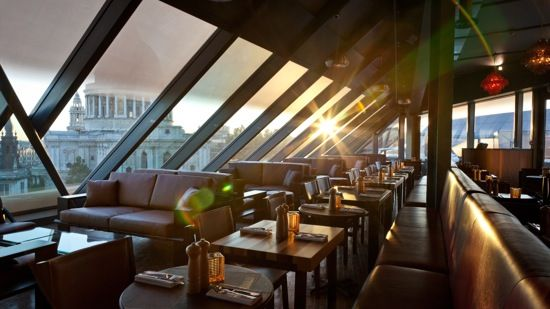 Madison Restaurant Bar and Cafe Stunning St Pauls Rooftop Bar - best of blueprint cafe address
