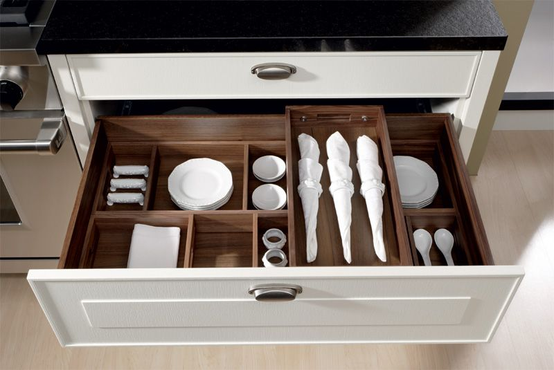 Kitchen Insert Allmilmo Two Level Kitchen Drawer Organizer