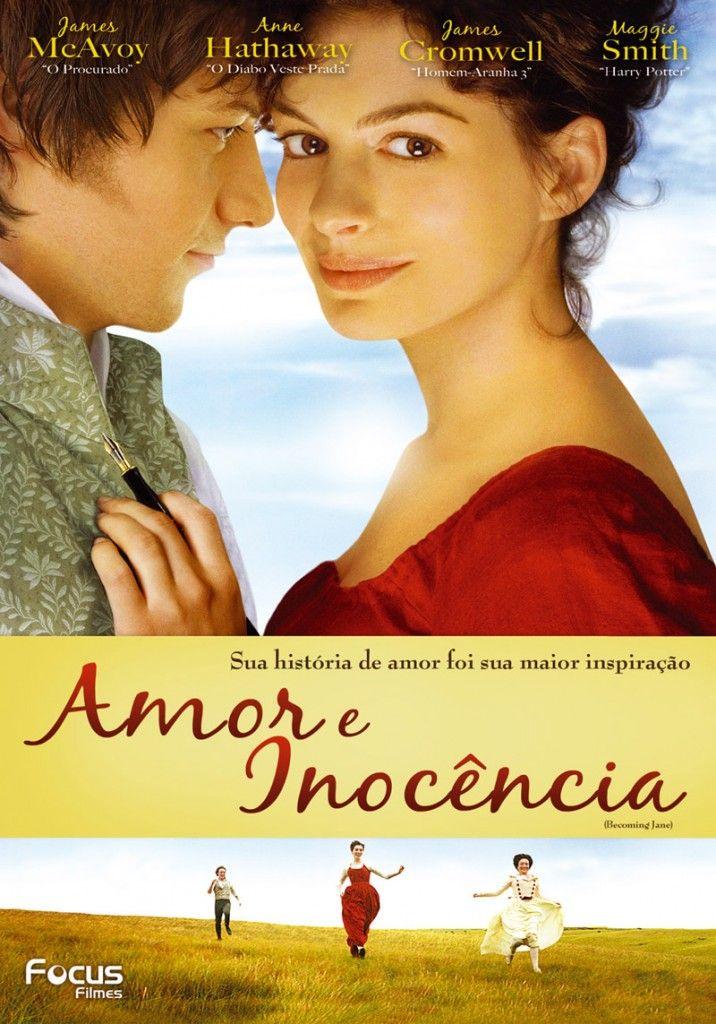 Amor E Inocencia Becoming Jane 2008 Filmes Romanticos Filmes