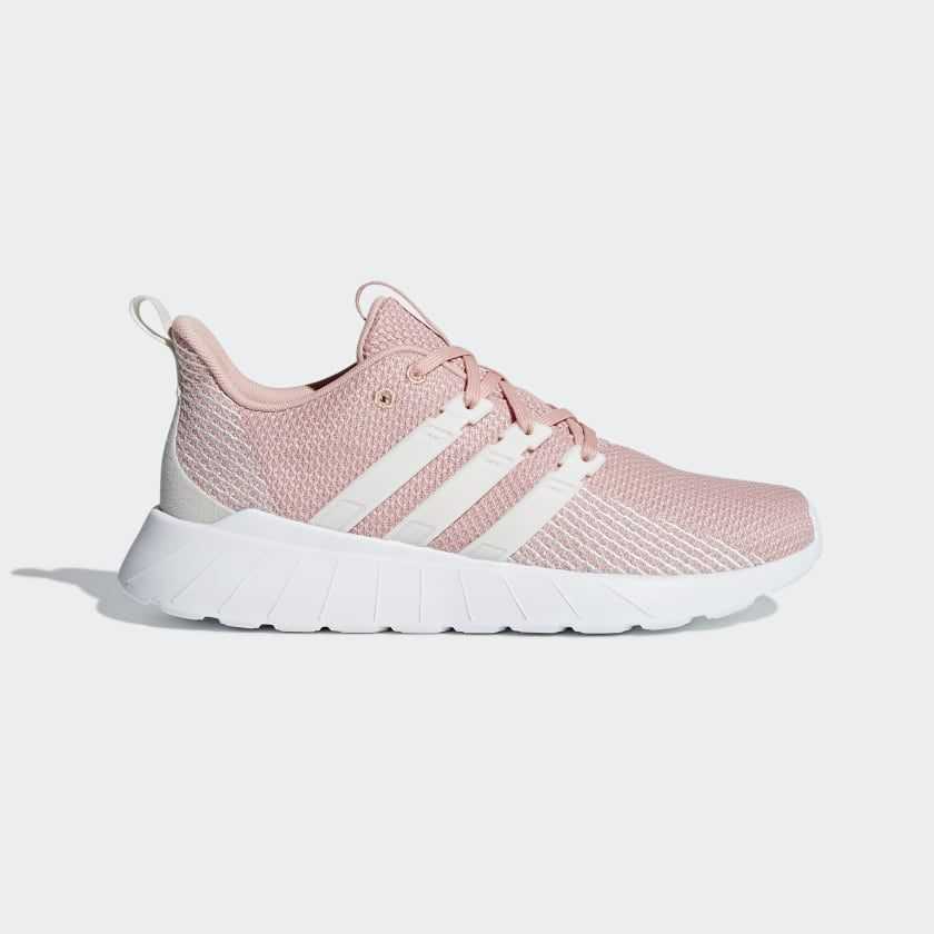 Questar flow shoes dust pink cloud white raw white