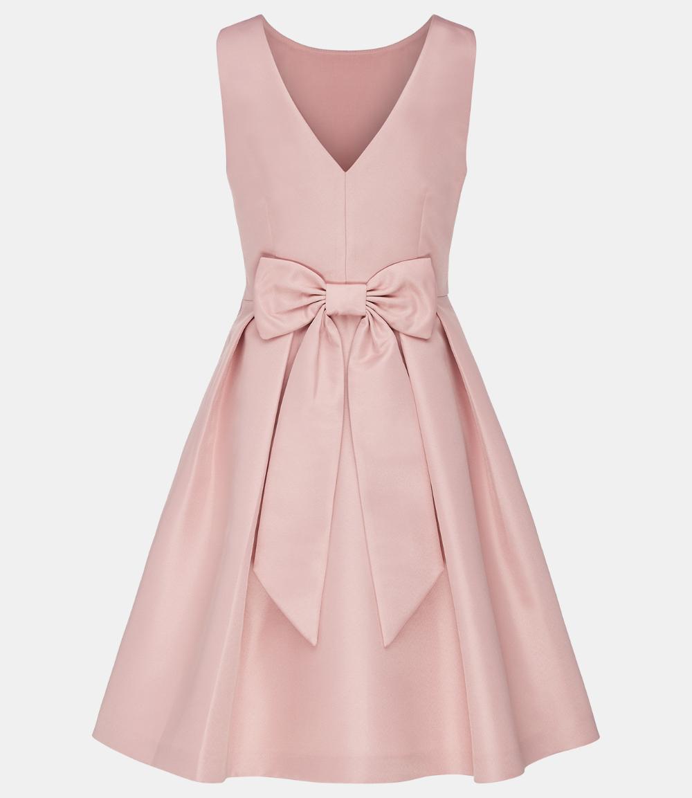 Romantisches Abendkleid Rosa Apart Fashion Kleider Freizeitkleider Abendkleid Rosa