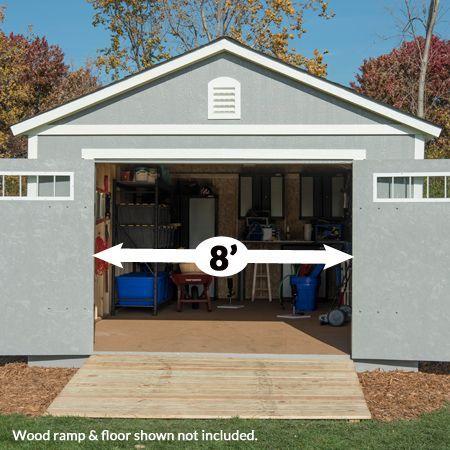 braxton 12 x 24 garage shed
