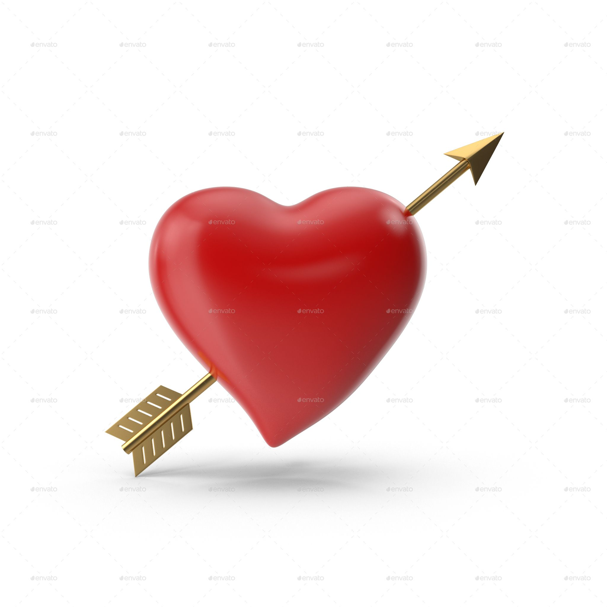 Heart With Arrow Png Set Heart With Arrow Png Arrow